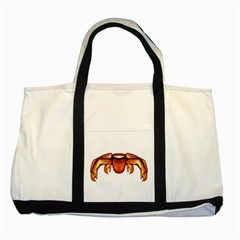 Alien Spider Two Toned Tote Bag by dflcprints