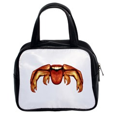 Alien Spider Classic Handbag (two Sides) by dflcprints