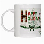 Happy Holidays Mug - White Mug
