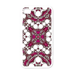 Pink Pearl Apple Iphone 4 Case (white) by OCDesignss