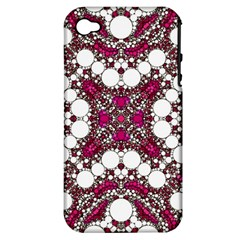 Pink Pearl Apple Iphone 4/4s Hardshell Case (pc+silicone) by OCDesignss