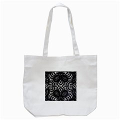 Twisted Zebra  Tote Bag (white) by OCDesignss