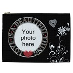 Beautiful Love XXL Cosmetic Bag - Cosmetic Bag (XXL)