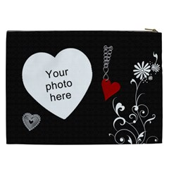 Beautiful Love Xxl Cosmetic Bag By Lil    Cosmetic Bag (xxl)   Qn7btoxrftt3   Www Artscow Com Back