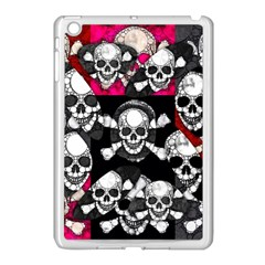 Pink Skull Bling Apple Ipad Mini Case (white) by OCDesignss