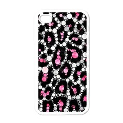 Pink Cheetah Bling Apple Iphone 4 Case (white) by OCDesignss