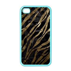Gold Zebra  Apple Iphone 4 Case (color) by OCDesignss