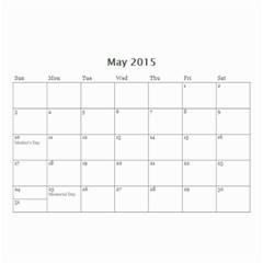 Ant Calendar By Doreen Carrington   Wall Calendar 8 5  X 6    V96mdna294ii   Www Artscow Com May 2015