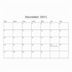 Ant Calendar By Doreen Carrington   Wall Calendar 8 5  X 6    V96mdna294ii   Www Artscow Com Dec 2015