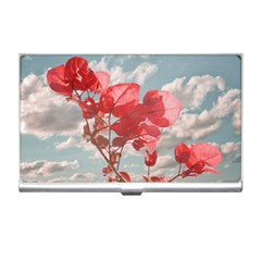 Flowers In The Sky Business Card Holder by dflcprints
