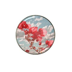 Flowers In The Sky Golf Ball Marker (for Hat Clip) by dflcprints