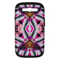 Fashion Girl Samsung Galaxy S III Hardshell Case (PC+Silicone) by OCDesignss