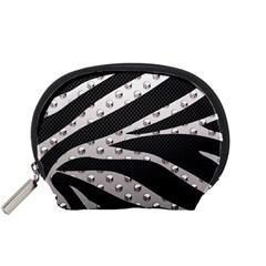 Metal Zebra  Accessory Pouch (small) by OCDesignss
