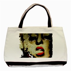 Woman With Attitude Grunge  Classic Tote Bag by OCDesignss