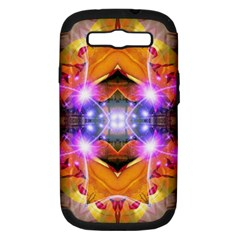 Abstract Flower Samsung Galaxy S Iii Hardshell Case (pc+silicone) by icarusismartdesigns