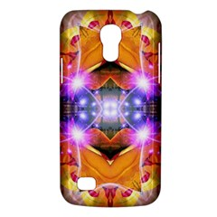 Abstract Flower Samsung Galaxy S4 Mini (gt I9190) Hardshell Case  by icarusismartdesigns