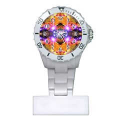 Abstract Flower Nurses Watch by icarusismartdesigns
