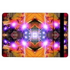 Abstract Flower Apple Ipad Air Flip Case by icarusismartdesigns