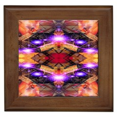 Third Eye Framed Ceramic Tile by icarusismartdesigns