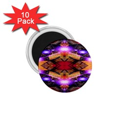 Third Eye 1 75  Button Magnet (10 Pack) by icarusismartdesigns