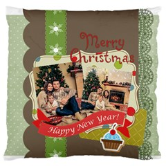 Xmas By Xmas   Standard Flano Cushion Case (two Sides)   D35eb8ej6ja0   Www Artscow Com Back