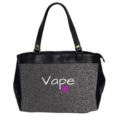 Vape Life  Oversize Office Handbag (two Sides) by OCDesignss