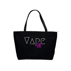 Vape Life Black Large Shoulder Bag by OCDesignss