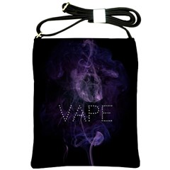 Vape Purple Smoke  Shoulder Sling Bag by OCDesignss