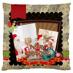 Xmas By Xmas   Large Flano Cushion Case (two Sides)   9qvm384vnp6a   Www Artscow Com Front