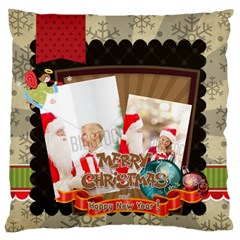 Xmas By Xmas   Large Flano Cushion Case (two Sides)   9qvm384vnp6a   Www Artscow Com Back