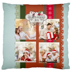 Xmas By Xmas   Large Flano Cushion Case (two Sides)   52rdhobm2ae8   Www Artscow Com Front