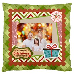 Xmas By Xmas   Large Flano Cushion Case (two Sides)   Tpasny81aaj5   Www Artscow Com Back