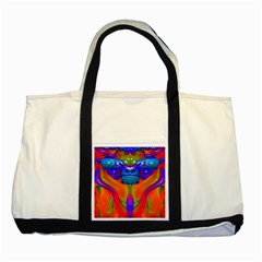 Lava Creature Two Toned Tote Bag by icarusismartdesigns