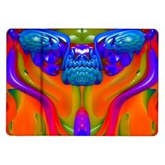 Lava Creature Samsung Galaxy Tab 10 1  P7500 Flip Case by icarusismartdesigns