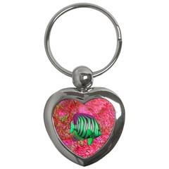 Fish Key Chain (heart) by icarusismartdesigns