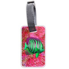 Fish Luggage Tag (one Side) by icarusismartdesigns