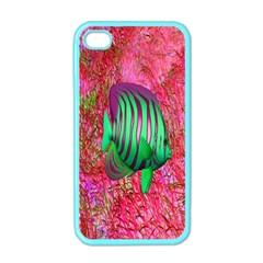 Fish Apple Iphone 4 Case (color) by icarusismartdesigns