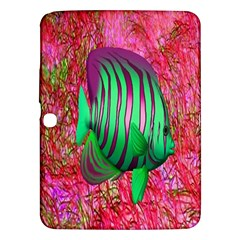 Fish Samsung Galaxy Tab 3 (10 1 ) P5200 Hardshell Case  by icarusismartdesigns