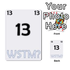 Who Starts This Mess? Card Deck By Gary H   Multi Purpose Cards (rectangle)   5s83ygdjn7wb   Www Artscow Com Front 13