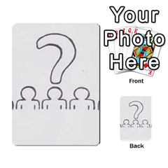 Who Starts This Mess? Card Deck By Gary H   Multi Purpose Cards (rectangle)   5s83ygdjn7wb   Www Artscow Com Back 50
