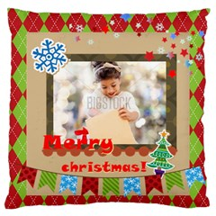 Xmas By Xmas4   Standard Flano Cushion Case (two Sides)   I25jq8gnedoa   Www Artscow Com Front