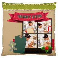 Xmas By Xmas4   Standard Flano Cushion Case (two Sides)   Rao08j5h1wcd   Www Artscow Com Front