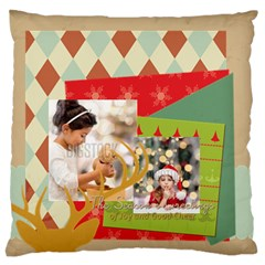 Xmas By Xmas4   Standard Flano Cushion Case (two Sides)   4no6b3sljin9   Www Artscow Com Front