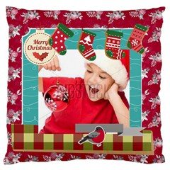 Xmas By Xmas4   Standard Flano Cushion Case (two Sides)   Bsiuqhflz7i9   Www Artscow Com Front