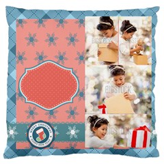 Xmas By Xmas4   Standard Flano Cushion Case (two Sides)   6db3m1occ1jq   Www Artscow Com Front