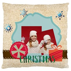 Xmas By Xmas   Large Flano Cushion Case (two Sides)   Ca3o5jhnd8t1   Www Artscow Com Front