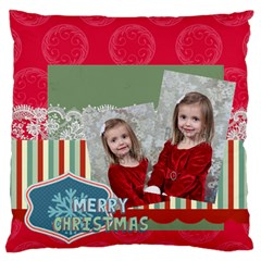 Xmas By Xmas   Large Flano Cushion Case (two Sides)   M1bckgw18392   Www Artscow Com Back