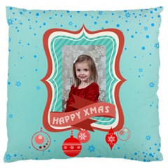Xmas By Xmas   Large Flano Cushion Case (two Sides)   Njv86m4pfgjm   Www Artscow Com Front