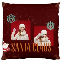 Xmas By Xmas   Large Flano Cushion Case (two Sides)   Bfj92dt27nws   Www Artscow Com Back