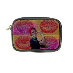 Rosie Pop Lips  Coin Purse by OCDesignss